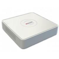 Видеорегистратор IP HiWatch DS-N204P(B) c 4-мя PoE интерфейсами