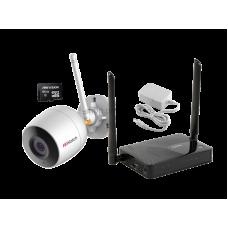 Комплект № 7 Wi-Fi уличная видеокамера + MicroSD 64Gb + роутер