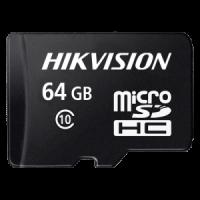 Карта памяти MicroSD 64Gb Hikvision